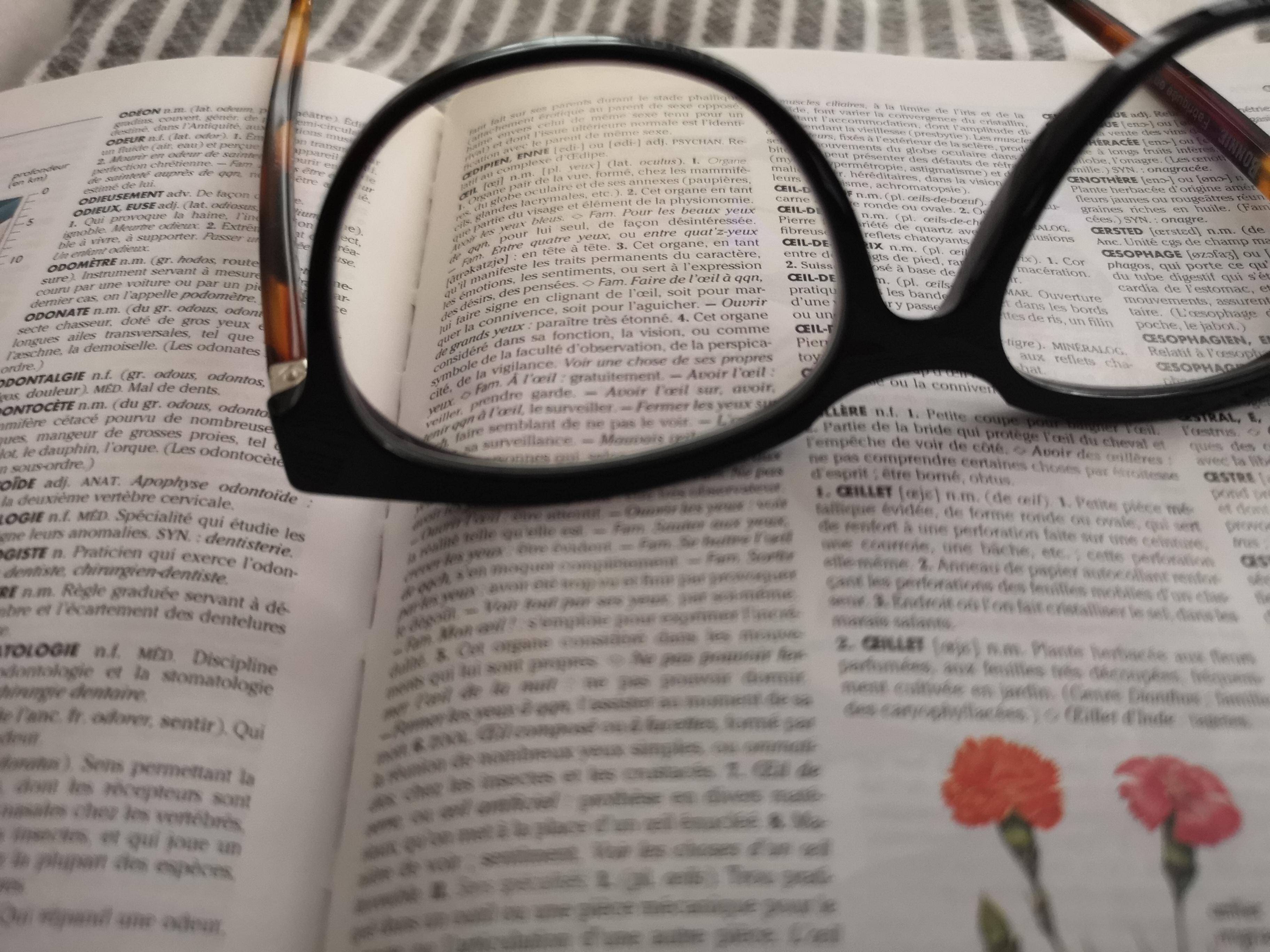 Des lunettes à votre mesure
